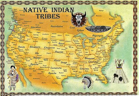 american tribes in oklahoma by map indian tribes map flickr photo