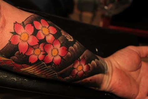 japanese cherry blossom tattoo for men cherry blossom tattoos for ideas and inspiration for