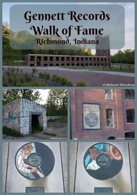 Records In Indiana Gennett Records Walk Of Fame Commemorates Jazz History Midwest Wanderer