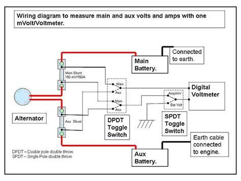 dual battery charging system wiring diagram get free