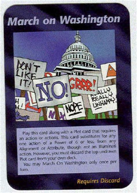 illuminati card illuminati march on washington new world order card