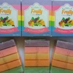 Promo Bpom Fruity Extract Rainbow Soap 10 In 1 Fruitamin Termurah Sabun Fruity Extract 10 In 1 Rainbow Soap Bpom Pusat