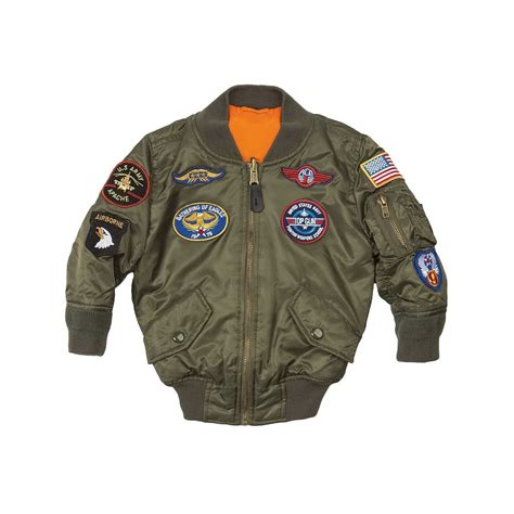 Bomber Pacht Army Ml alpha ma 1 youth nick s sports shop central surplus