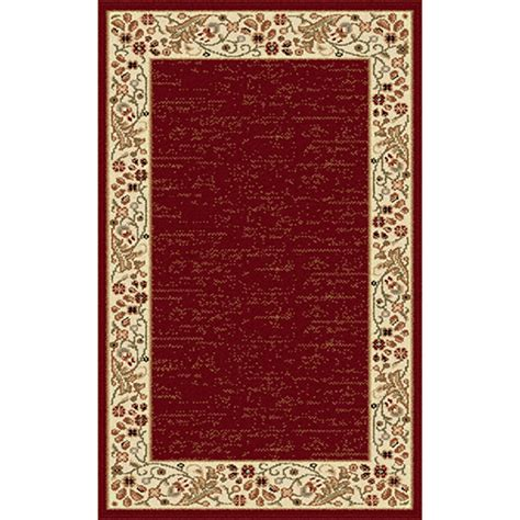rugs with red accents tayse sensation harper accent rug red boscov s
