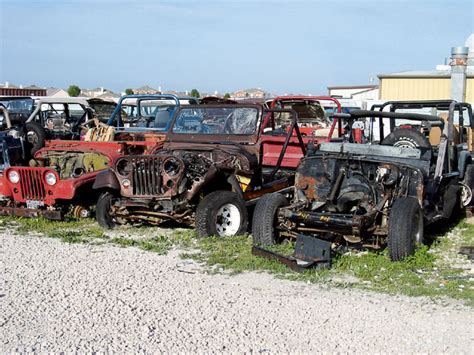Jeep Wrangler Salvage Yards Offroad Utopia Grave Yard