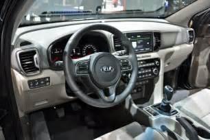 Interior Of Kia Sportage 2017 Kia Sportage Interior Release Date Cars