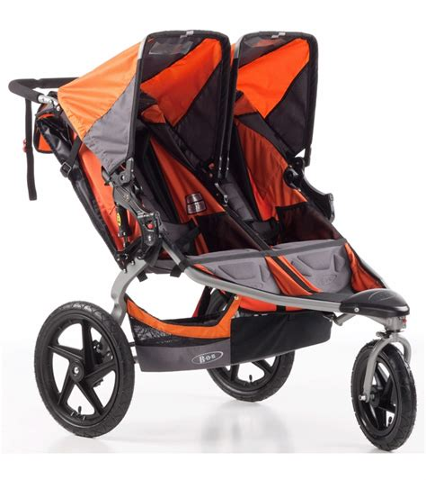Jogger For Orange bob revolution se duallie stroller orange