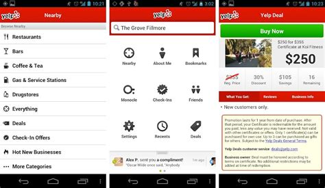 yelp app android best android apps for finding cheap gas