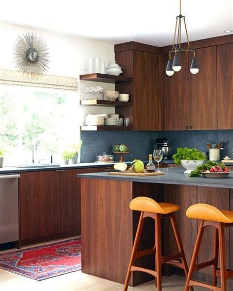 39 stylish and atmospheric mid century modern kitchen