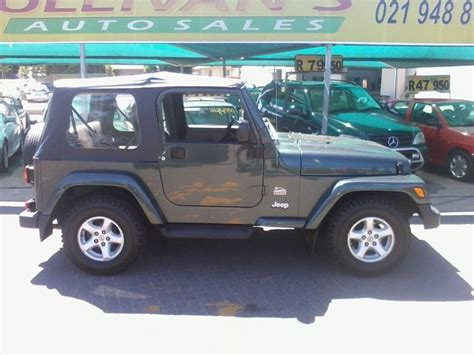 4 0 Jeep Motor For Sale Used Jeep Wrangler 4 0 For Sale In Western Cape