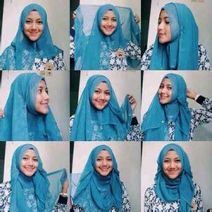 tutorial hijab paris untuk remaja cara pakai hijab paris modern terbaru