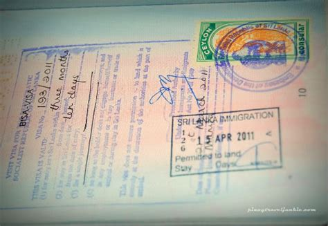 Entry Requirements For Mba In Sri Lanka by How To Apply For A Sri Lanka Tourist Visa In The