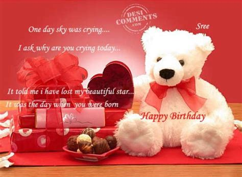 Advance Happy Birthday Wishes To Friend Advance Birthday Wishes To Our Dear Sriniketan On 9th