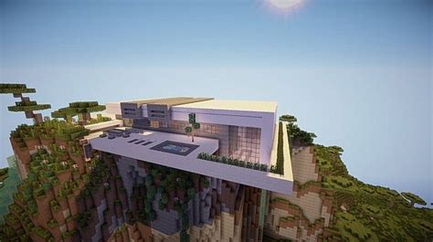 Sleek Kitchen Design by Orbit Modern Mountain Home Minecraft House Design