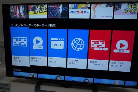 Tv Sharp Cocoro Eye sharp aquos cocoro vision player with artificial intelligence helps users to enjoy tv programs