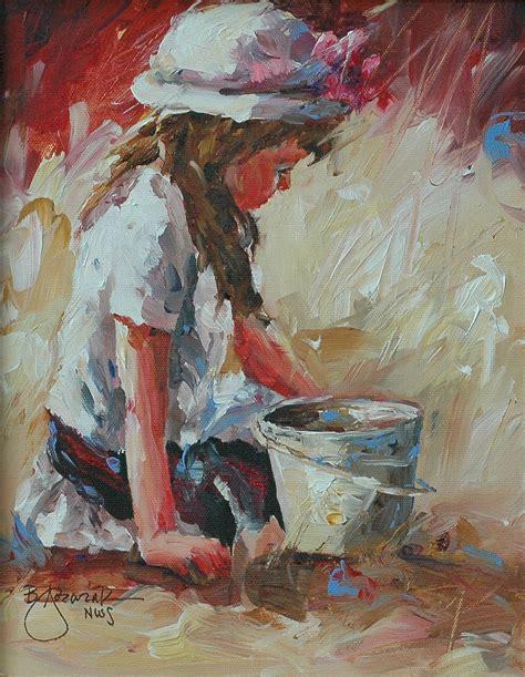 painting with acrylic bev jozwiak