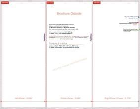 free tri fold brochure templates microsoft word brochure