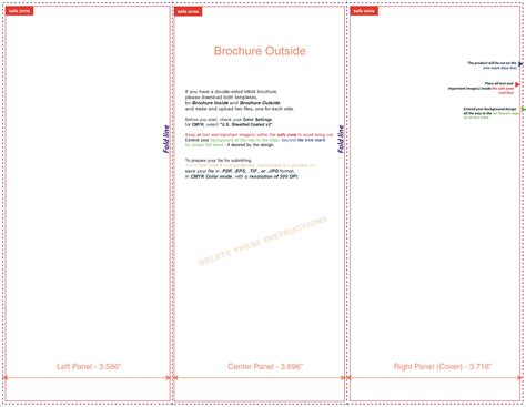 free tri fold brochure templates examples 15 free templates