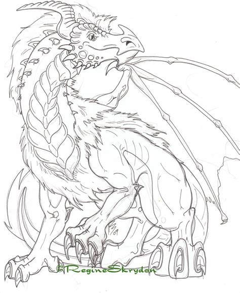 coloring pages for adults dragon detailed coloring pages for adults detailed dragon