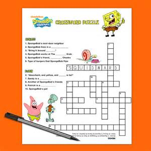 birthday gifts for crossword puzzle book gift as birthday gifts for boyfriend or husband books spongebob crossword puzzle nickelodeon parents