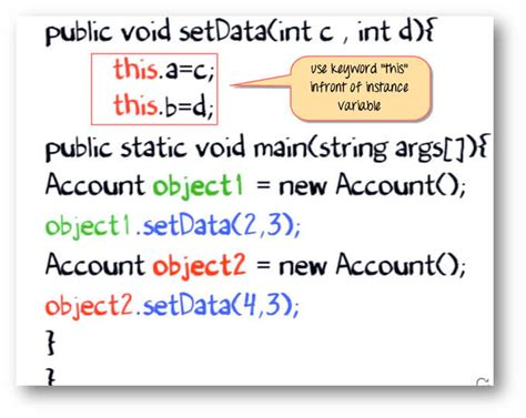 java tutorial this keyword java quot this quot keyword