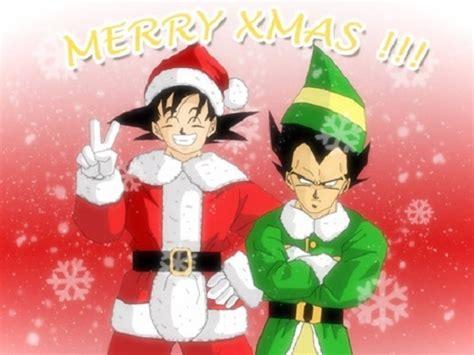 Imagenes Goku Navidad   dibujos de goku en navidad gratis para compartir