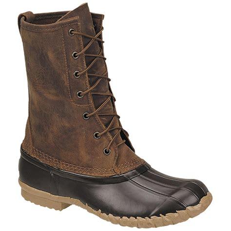 s lacrosse 174 10 quot uplander boots brown 129975 winter