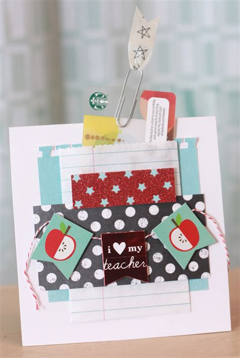 Diy Gift Card Holder Ideas - diy gift back to school teacher gift card holder me my big ideas