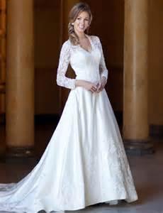 wedding dresses with sleeves gorgeous wedding dresses with sleeves ideal weddings