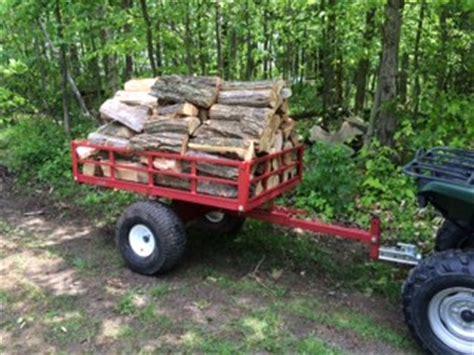 single axle atv utility dump trailer model atv