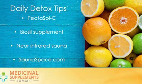 Detox Summit by Bile And Modified Citrus Pectin For Detox Medicinal