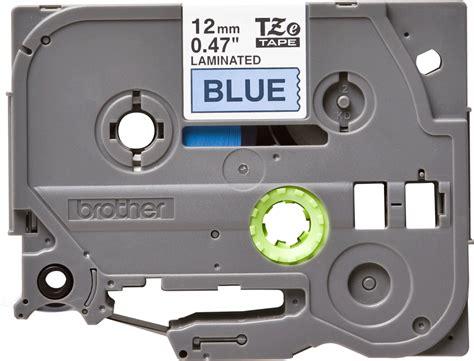 Asli Impor Tze 531 Label tze 531 zwart op blauw labeltape