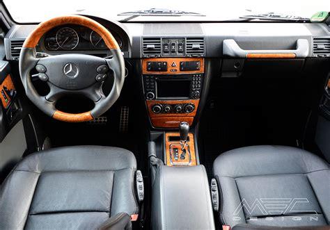 G Interior by W463 G Klasse Interieur Mec Design