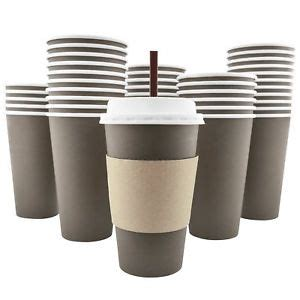 Paper Cup Kopi 8 Oz Cup Lid Stirer Termurah 100 pack 16 oz disposable paper coffee cups lids sleeves stir straws 859669007055 ebay