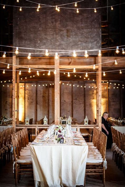 a colorful shabby chic wedding in upstate new york barn