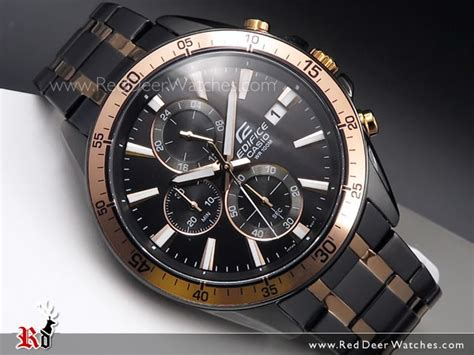 Casio Edifice Eqw M 1000 Black Gold buy casio edifice chronograph stopwatch black gold 100m sport efr 546bkg 1av efr546bkg