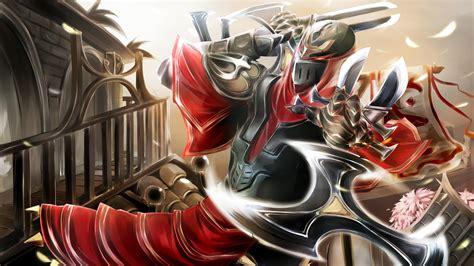 wallpaper hd zed zed fan art league of legends wallpapers