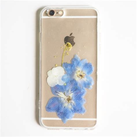 Handmade Phone Covers - phone cover blue flower flowers floral floral phone