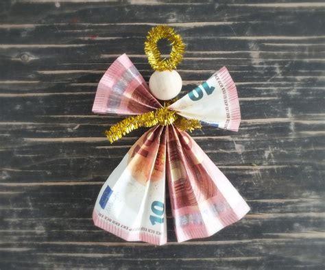 weihnachtsgeschenke geld geldengel falten geldgeschenke zu weihnachten auf