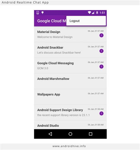 chat for android android simple chat application source code