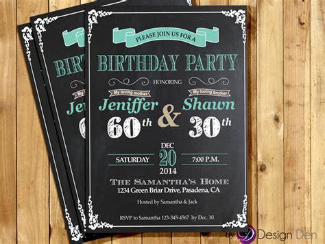 wording joint birthday invitations joint birthday invitations for adults cimvitation