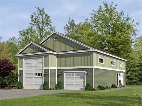 Rv Garage Home Plans by 062g 0068 Rv Garage Plan With Tandem Car Bay And Loft