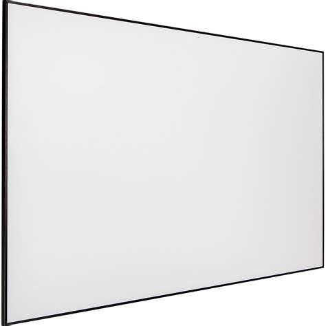 Fixed Frame Screen 133 Inci White Jk draper 254205 profile 65 x 116 quot fixed frame screen 254205