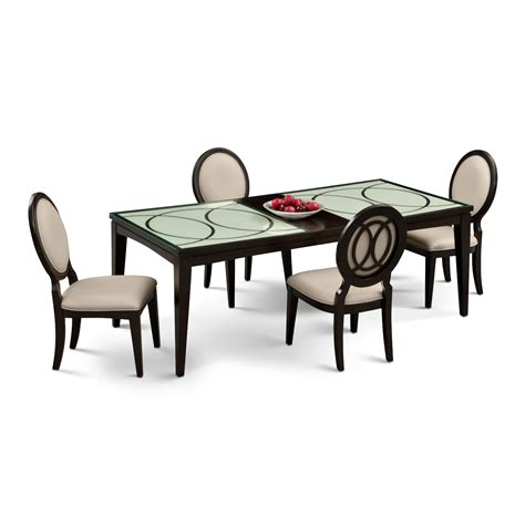 City Furniture Dining Room Cosmo 5 Pc Dining Room Value City Furniture
