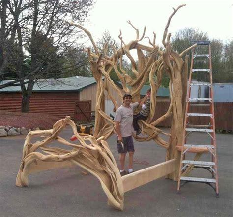log bed juniper log bed rustic bed cabin furniture lodge furniture