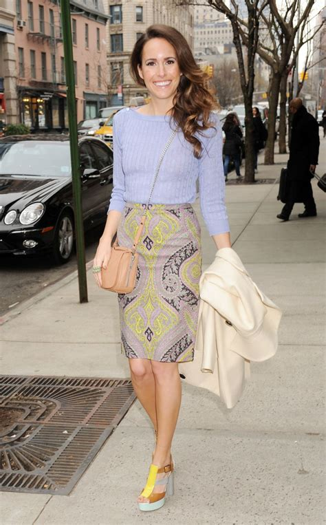 Dres Jumbo Chan louise roe pencil skirt louise roe looks stylebistro