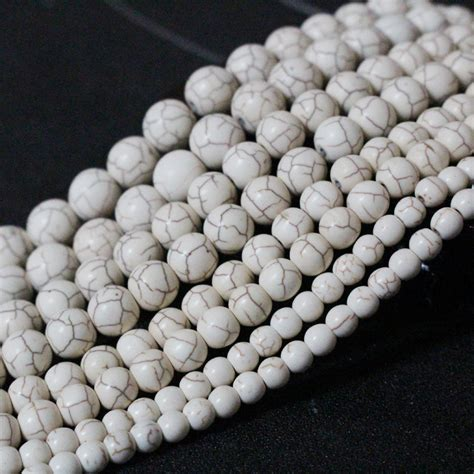 white bead wholesale high quality 4mm 6mm 8mm 10mm 12mm white