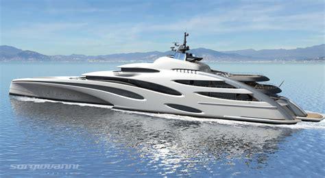 trimaran luxury yacht futuristic 120 meter trimaran superyacht by echo yachts