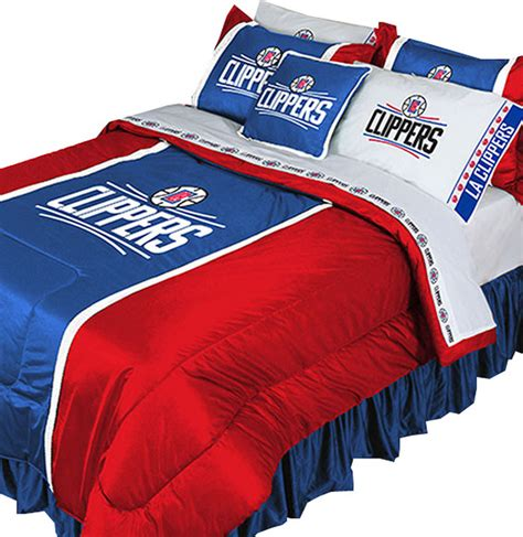 Basketball Bedding Sets Nba La Clippers Bedding Set Basketball Comforter Sheets Contemporary Comforters And