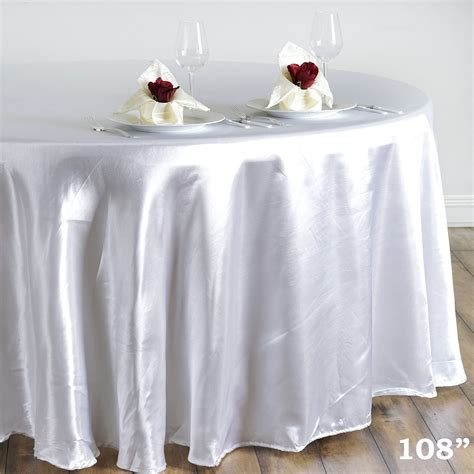 wedding linens for sale 6 pcs 108 quot satin tablecloths wedding kitchen tabletop linens sale ebay